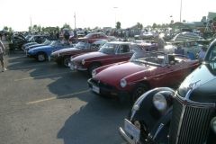 British Car Night Rideau