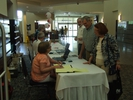 Registration area at the Conference Centre
