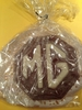 First Timers received a chocolate MG logo