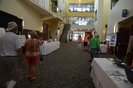 Registration area at the Convention Centre