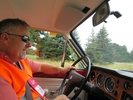 Driving with Paul Williams in his Cortina