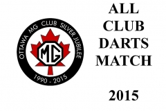 All Club Darts Match