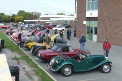 MG Car Show & Tell at Gloucester High