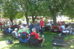 British Car Folks from Montreal Picnic In Merrickville
