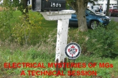 Electrical Mysteries of the MG – A Technical Session