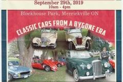 Merrickville Classic European Car Show 2019