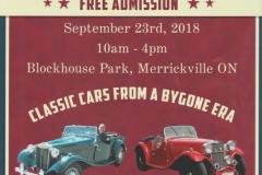 Merrickville Classic European Car Show
