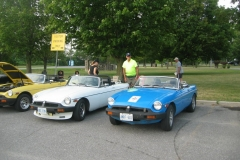 Vintage Car Show at the Long Term Care Center in Perth