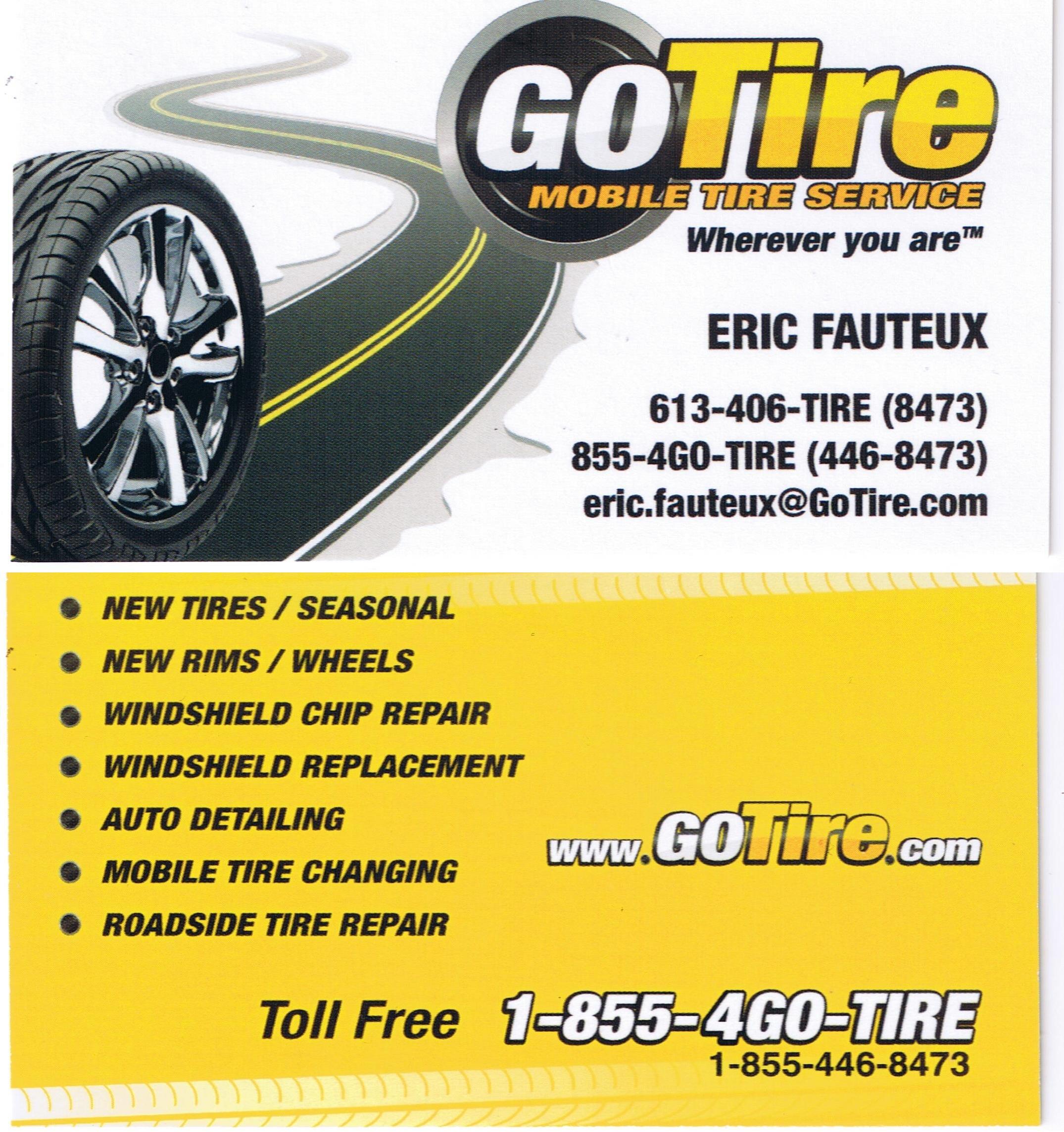 Ottawa MG Club » Mobile Tire Services